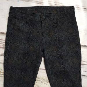 Kut from the Kloth Python Snake Skinny Pants 6